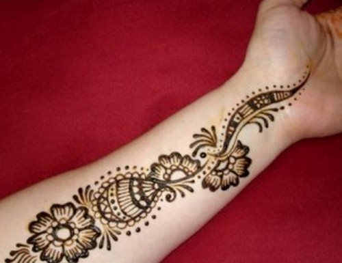 Easy Arm Mehndi Designs : Most stylish arms mehndi designs for special events