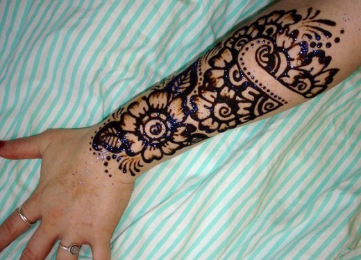 Full Arm Mehndi Designs : 30 most stylish arms mehndi designs for special events sheplanet
