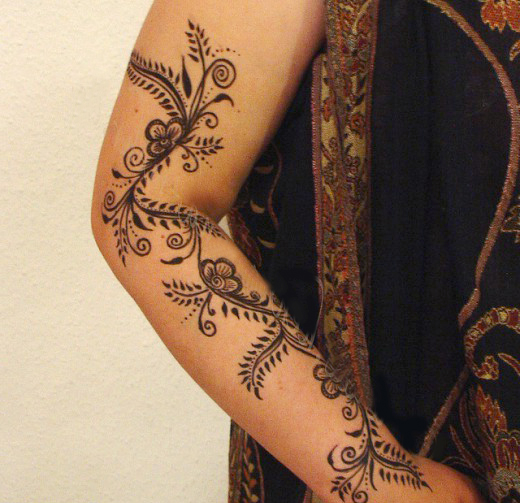 Mehndi Designs Arms Images : Most stylish arms mehndi designs for special events