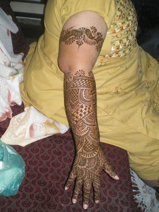Full Arm Mehndi Pics : Most stylish arms mehndi designs for special events