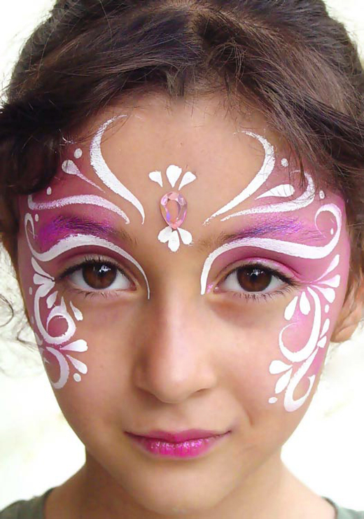 Kids girl tattoo designs for new generation sheplanet for Beautiful painting designs