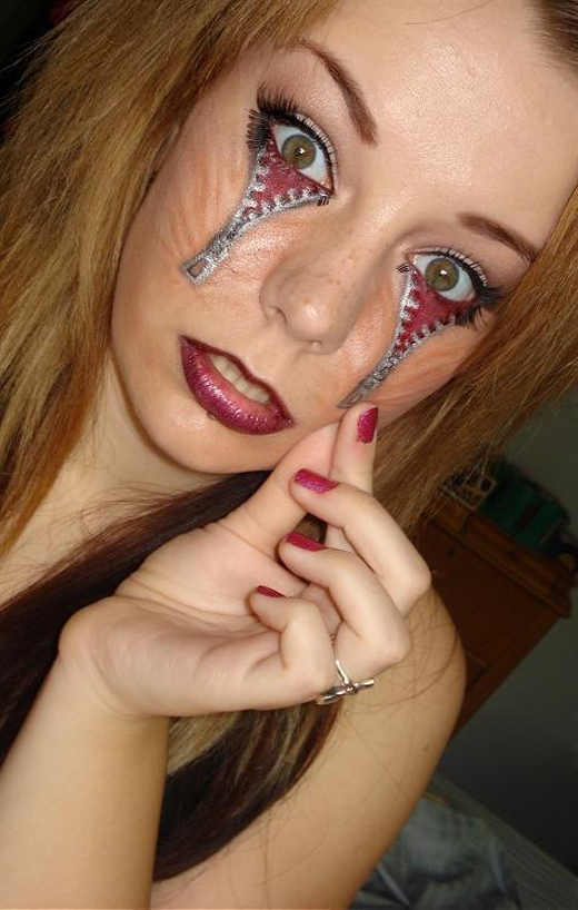 22 graceful face tattoo designs for your next tattoos sheplanet. Black Bedroom Furniture Sets. Home Design Ideas