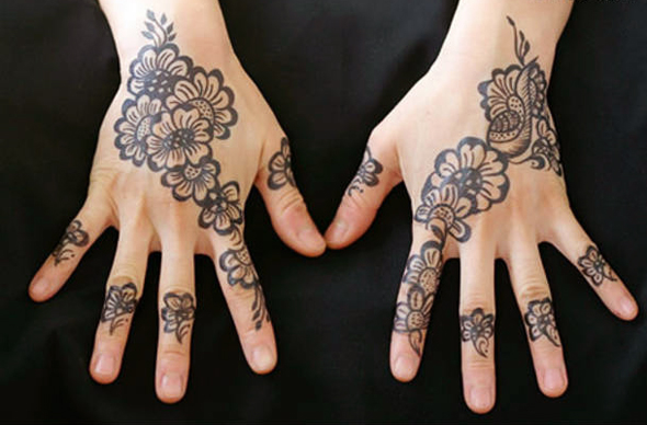 how to make black henna for hair at home