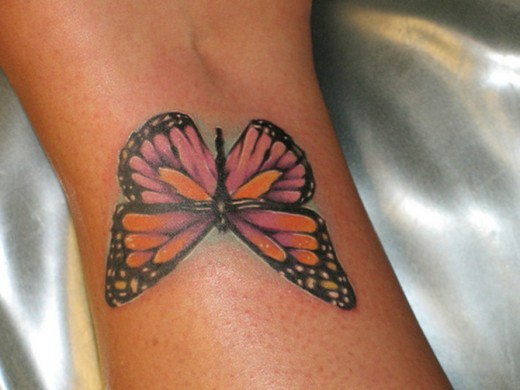 45 beautiful examples of butterfly inspired tattoo designs for Butterfly tattoo wrist designs