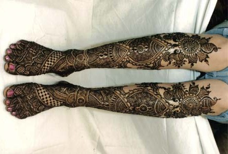 Mehndi Legs Images : Legs mehndi designs make your attractive sheplanet