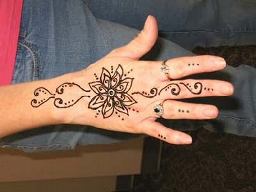 Super Cool Back Hands Mehndi Designs for Your Own Use ...