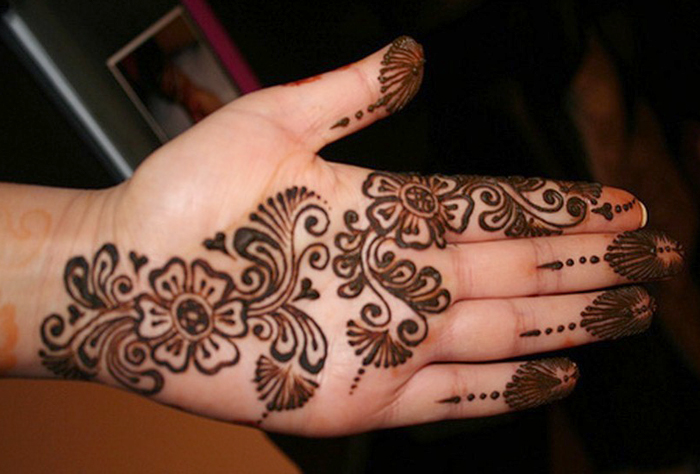 Indian Simple Mehndi Desgns For Hand Sheplanet