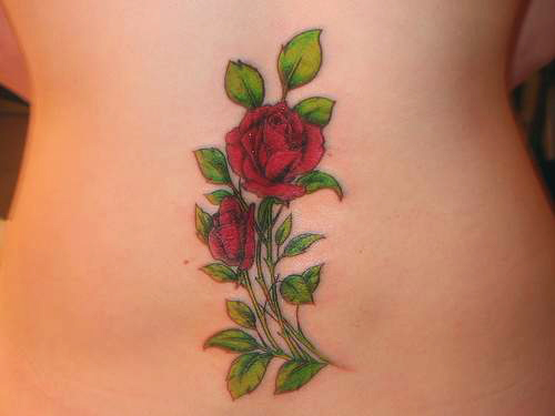 Rose Tattoo Designs for Women