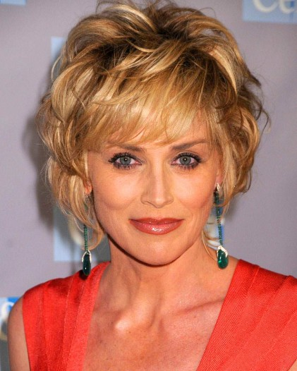 Short Shaggy Hairstyles for Old Women 2012