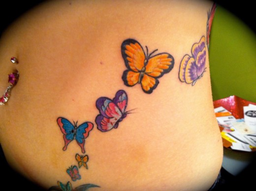 A collection of 25 stomach tattoos you are looking for for Stomach tattoo designs