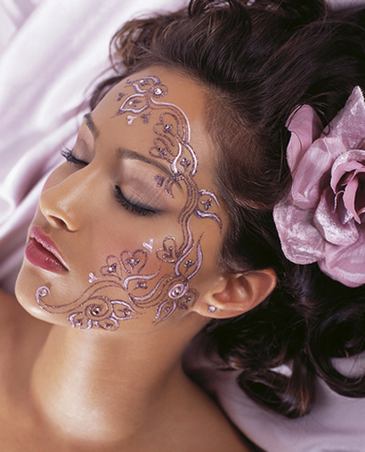 Tattoo Woman Face Design: 22 Graceful Face Tattoo Designs For Your Next Tattoos