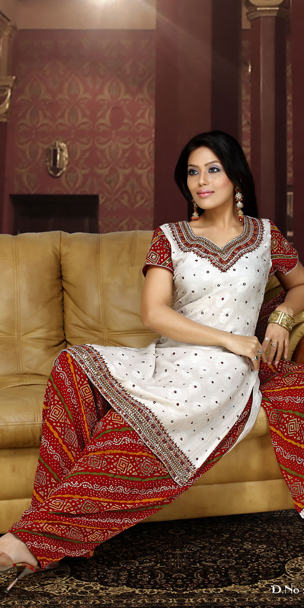 Bollywood Celebrity in Violet Color Designer Netted Salwar ...