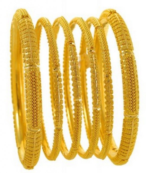 Buy 10 exclusive most designs gold bangles pictures pictures trends