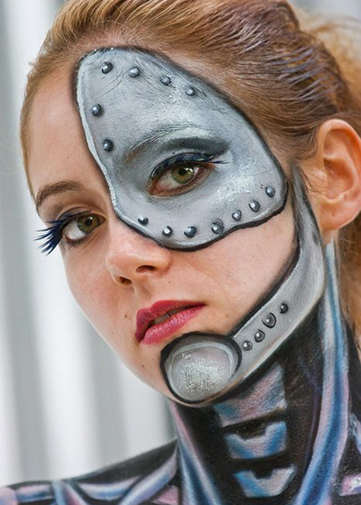 30 Awesome Face Painting Tattoo Designs For Female ShePlanet