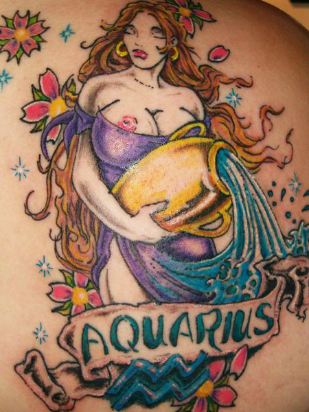 20 zodiac sign tattoo designs most popular zodiac signs to have sheplanet. Black Bedroom Furniture Sets. Home Design Ideas