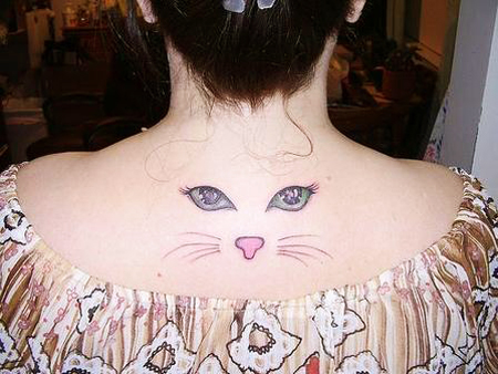 20 beautiful eyes tattoo designs you should check out for Cat eyes tattoo designs