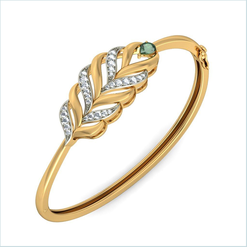 20 Latest Fashion Gold Bangles Designs for Bridals - ShePlanet