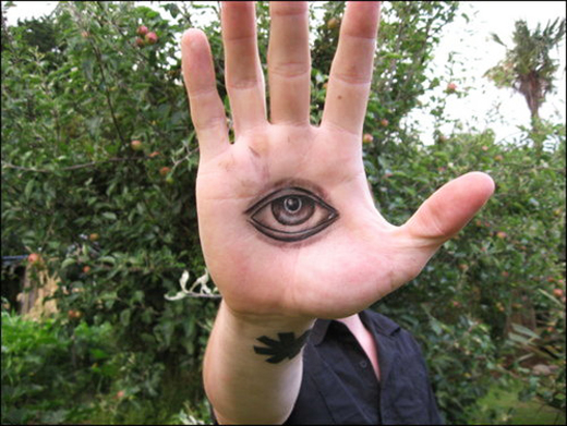 Hand Eye Tattoo: 20+ Beautiful Eyes Tattoo Designs You Should Check Out