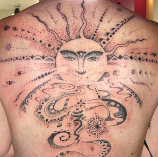 30 best cool sun tattoo designs that you must follow sheplanet. Black Bedroom Furniture Sets. Home Design Ideas