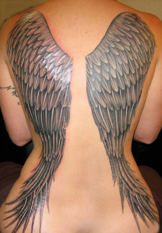 Angel Wing Tattoo Angel Wings Tattoo Drawing Wing Drawings With