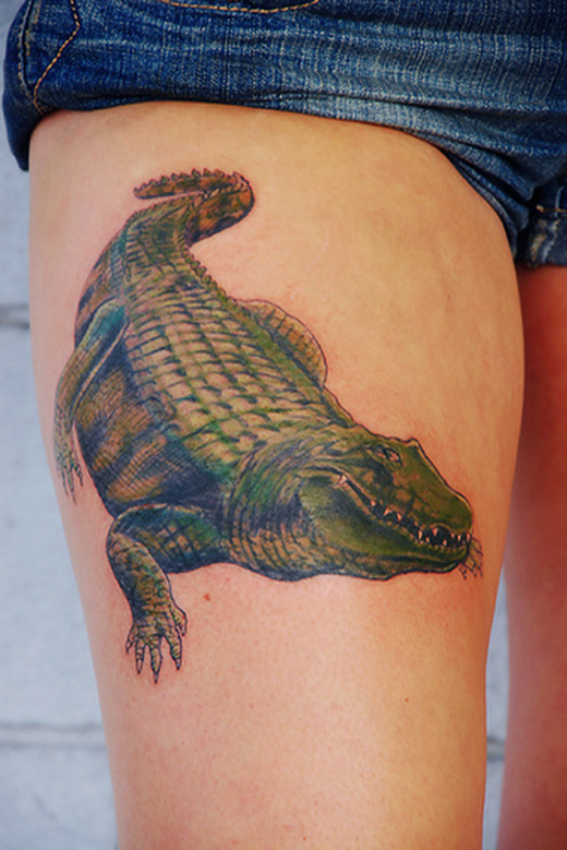 Amazing Crocodile Tattoo Designs Collection Sheplanet