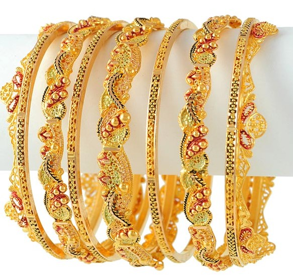 Gold Bangles Latest Designs Collection ShePlanet