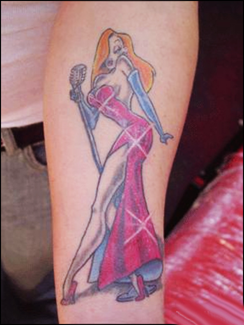 Cartoon Characters Tattoos : Famous best cartoon tattoo designs for women sheplanet
