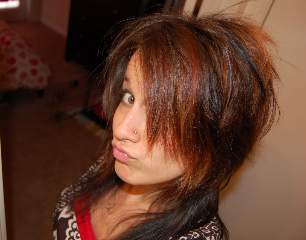 Latest Emo Hairstyles for Teen Girls 2012 | ShePlanet