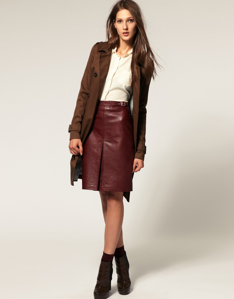 leather pencil skirt dress sheplanet