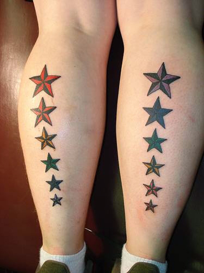 30 cool nautical star tattoo designs you should get sheplanet. Black Bedroom Furniture Sets. Home Design Ideas