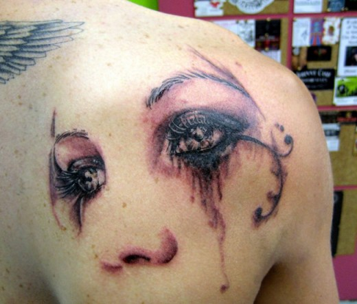20 beautiful eyes tattoo designs you should check out sheplanet. Black Bedroom Furniture Sets. Home Design Ideas