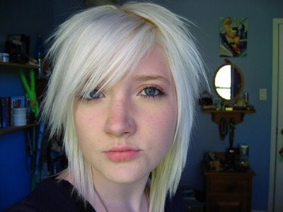 Have thought hot emo blonde teen