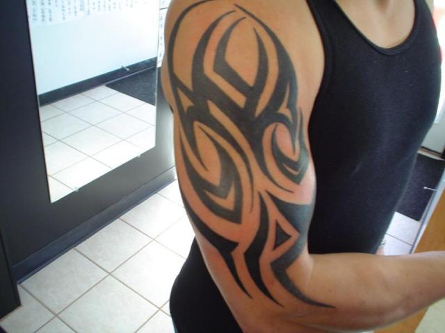 ... Tattoos Images & Pictures - Becuo Simple Tribal Tattoo Designs