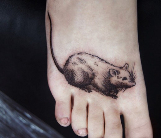 unique rat tattoo designs for your body art sheplanet. Black Bedroom Furniture Sets. Home Design Ideas