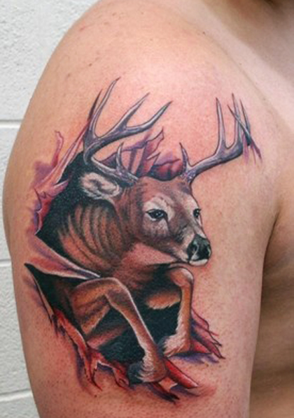 Best Deer Tattoos
