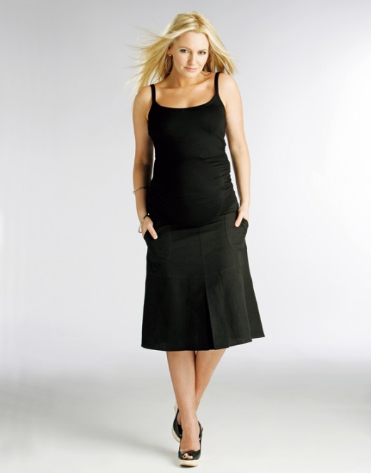 Black Maternity Skirt Designs