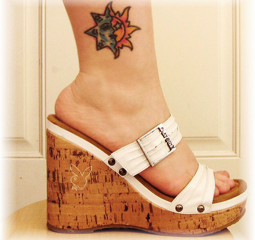 25 free ankle tattoo designs for women sheplanet. Black Bedroom Furniture Sets. Home Design Ideas