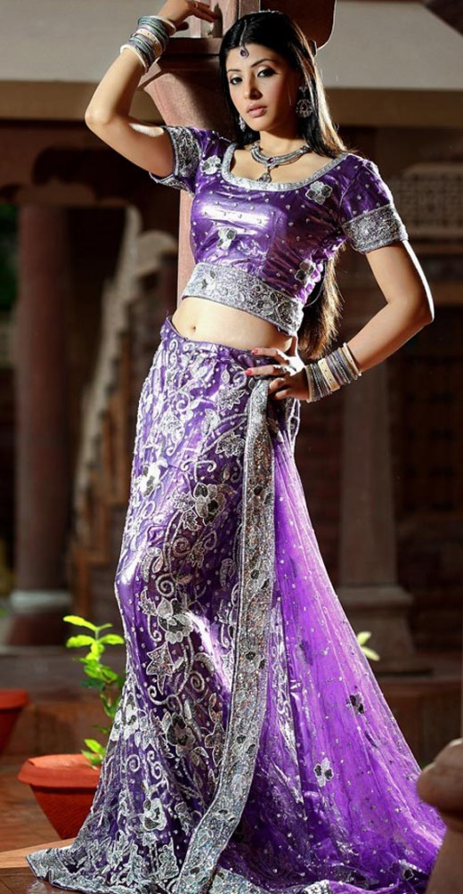 Designer Lehenga Choli With Heavy Stone Work