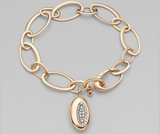 Diamond and Gold Bracelet Design