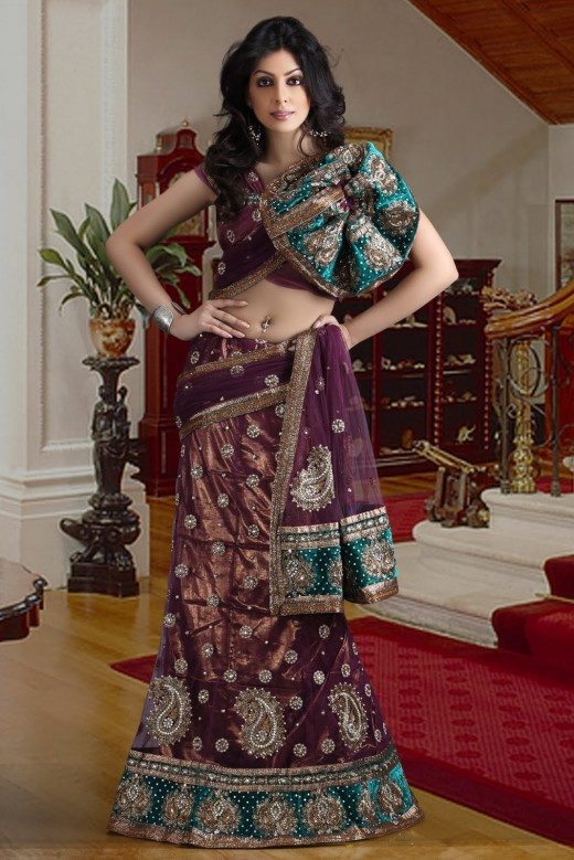 Embroidered Lehenga Choli 2012 Collection
