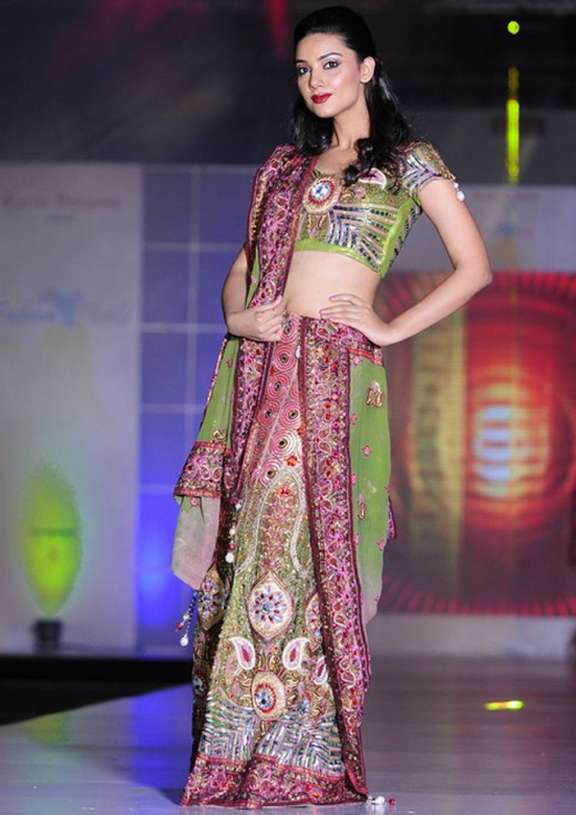 Embroidered Lehenga Choli Collection