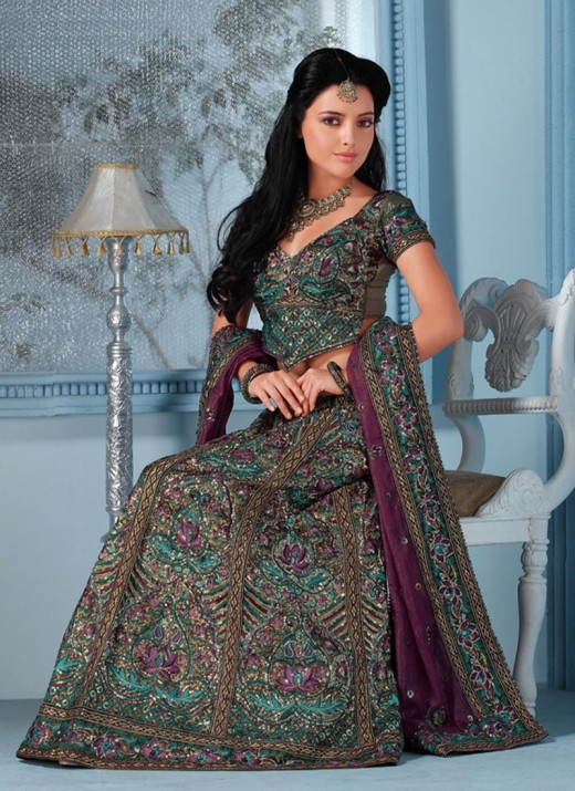 Embroidered Lehenga Choli Latest Designs