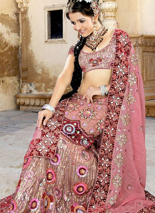 Embroidered Lehenga Choli New Collection