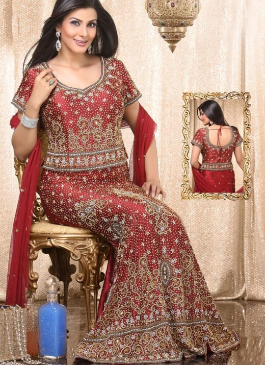 Embroidered Lehenga Choli for Bridal