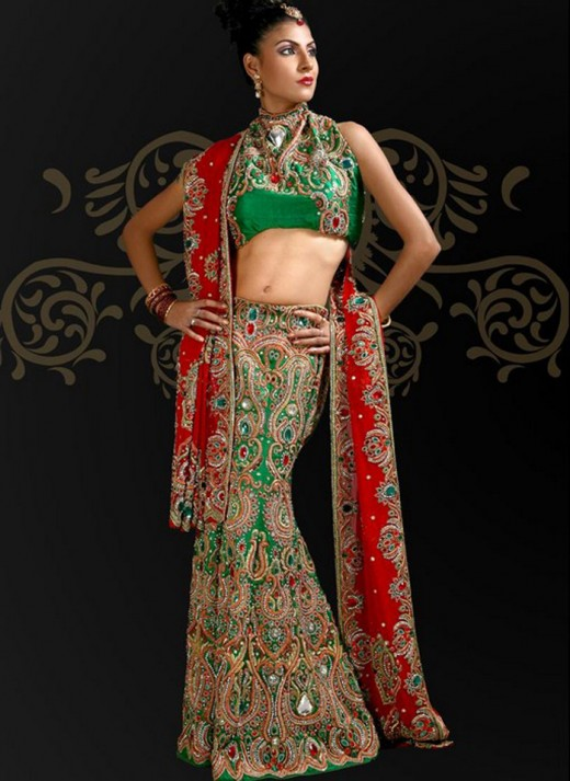 Embroidered Lehnga Choli Designs