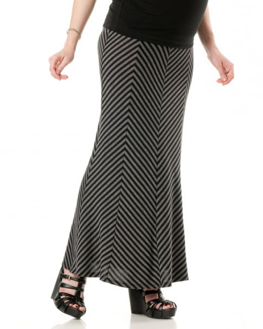 Full Length Maternity Skirt Design