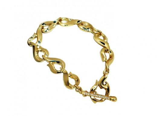 Gold Bracelet for Teenage Girls