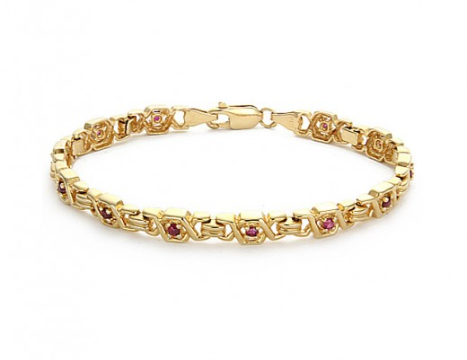 Gold Bracelet for Young Girls