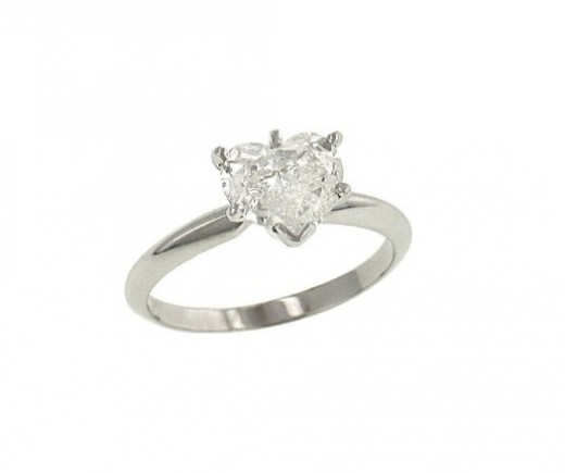 Heart Solitaire Ring Design