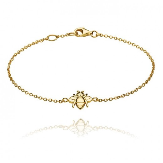 Honey Bee Gold Bracelet Design